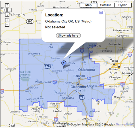 Designated Marketing Area | Search Marketing Communications on