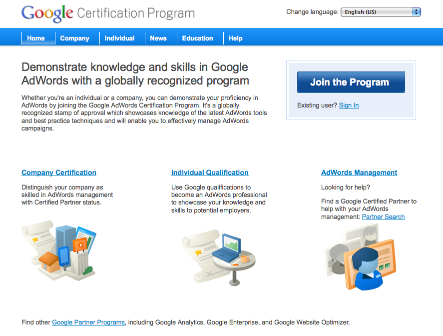 Technical Issues With The Google Certification Program Search
