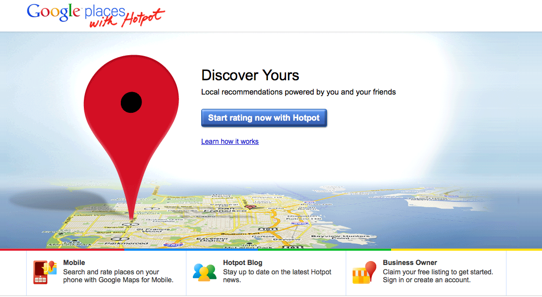 Recommendation Engine: Google Places With Hotpot | Search ...