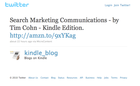 Tweet Kindle Edition
