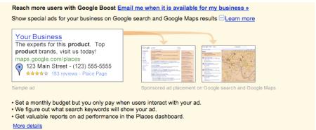 Google Boost