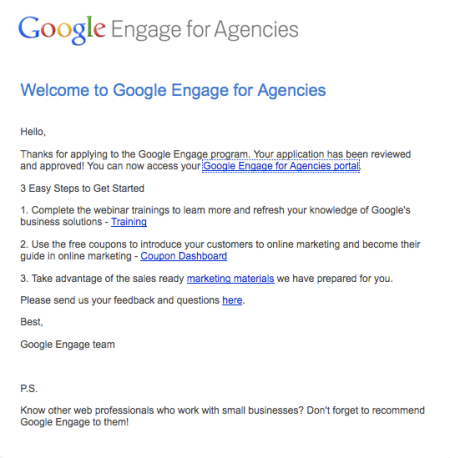 Welcome To Google Engage For Agencies