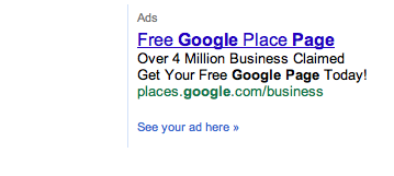 Google Places Pages: Over 4 Million Businesses Claimed
