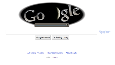 Google Lunar Eclipse 2011